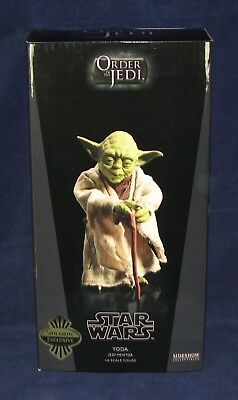 Star Wars Sideshow Collectibles Exclusive YODA JEDI MENTOR 1/6th MIB w shipper