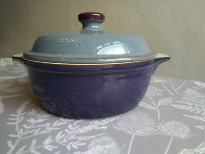 Denby Storm casserole dish with lid