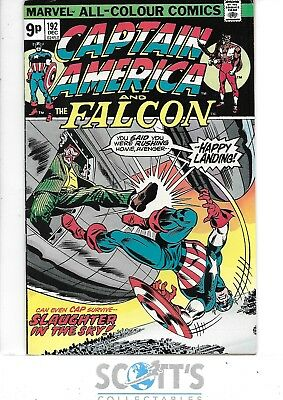 Captain America   #192  F/VF