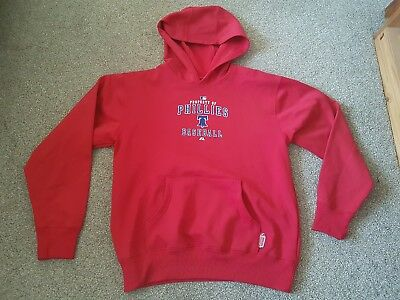 Phillies Majestic Baseball Mens Hoodie Size Xl