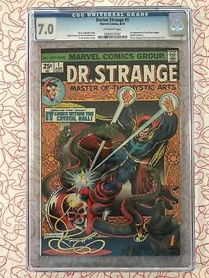 Doctor Strange 1 CGC 7.0 First Appearance Silver Dagger KEY ISSUE