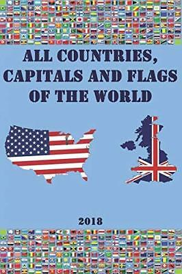 All countries capitals and flags of the world by Smart Family New Paperback Book
