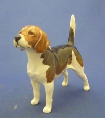 "Beswick England Large 5 1/2"" Champion Wendover Billy BEAGLE Dog Figurine #1933A"