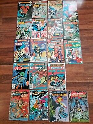 Lot of Vintage DC Comics: The Brave and the Bold # 197 200 (19 total) Batman