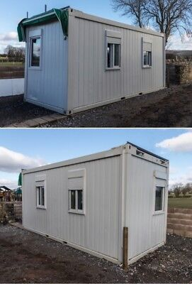 20ft Site Office, Welfare Unit, Canteen, Portable Building, Shipping Container