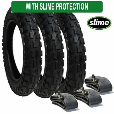 Urban Detour Tyre and Inner Tube Set (x3) Heavy Duty with Slime Protection