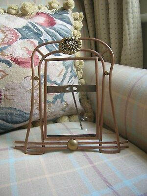 Arts and Crafts Copper and Brass Photograph Frame Art Deco