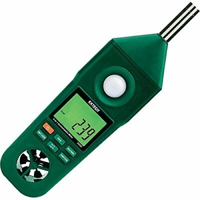 Extech EN300 Hygro Thermo Anemometer Light/ Sound Meter
