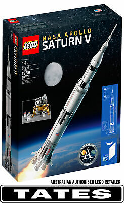 LEGO 21309 NASA APOLLO SATURN V from Tates Toyworld