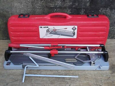 Rubi Tr 600 Professional Tile Cutter-Wall/floor-Industrial-With Case Excellent