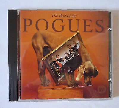 The Best Of The Pogues 1991 Cd Album - Good Condition