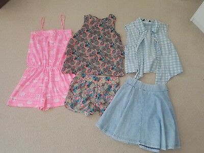 Girls Summer Clothes Bundle Age 10-11 years Includes New Look