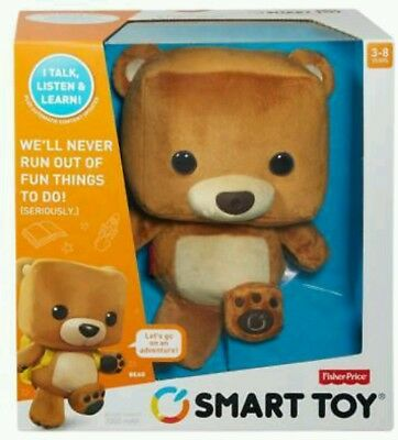 Fisher-Price Smart Interactive Bear Toy FP - Brain of a computer.  Voice recogin