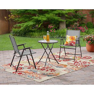 Grand Patio Premium Steel Patio Bistro Set, Folding Outdoor Patio Furniture  Sets, 3 Piece Patio Set ...