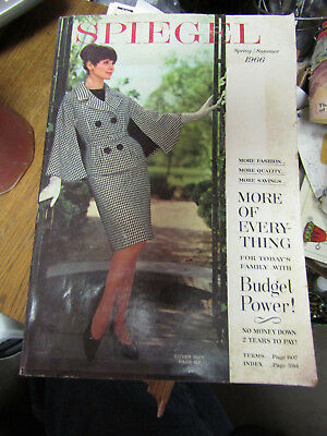 Spiegel Catalog 1966 Spring Summer Vintage Fashion Guns Bikes Stereos Car Parts