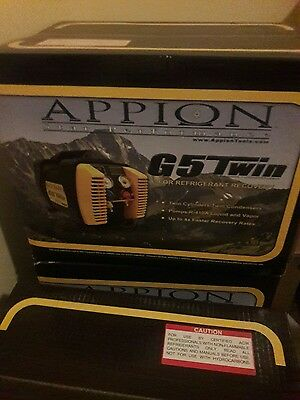 Appion G5 Twin recovery