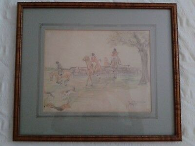 """ORIGINAL 1931 JEAN BOWMAN SIGNED PENCIL DRAWING """"Personal Gift to Family Friend"""""""
