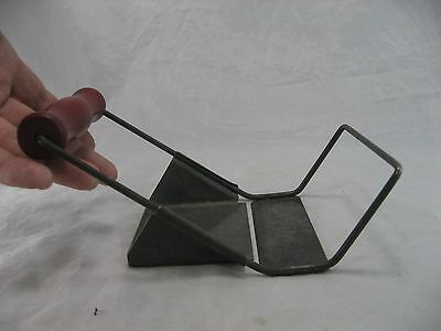 Big Cheese Slicer Red Handle Vintage Detroit USA Pat Pending Farmhouse Style