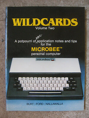Wildcards volume 2 - More Notes and Tips for the Microbee computer