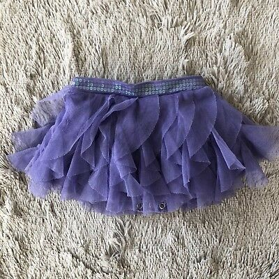 Pre-Owned Baby Girls The Children's Place Purple Tutu (Size: 12 Months)