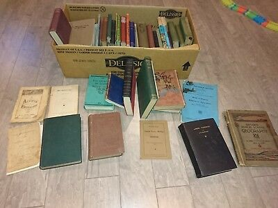 Lot of 43 Antique And Vintage Old Rare Hard To Find Books Including 1st Edition