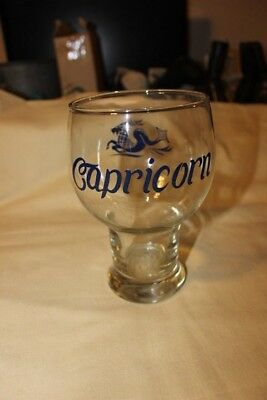 Capricorn large clear glass/sup/stein