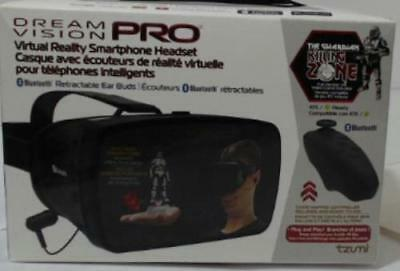 NEW OPEN BOX Tzumi 4872B Dream Vision Pro Virtual Reality Headset with Bluetooth