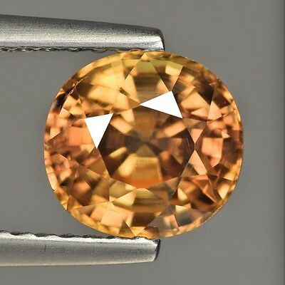 Spectacular Unheated Cambodian Natural Zircon  Gemstone
