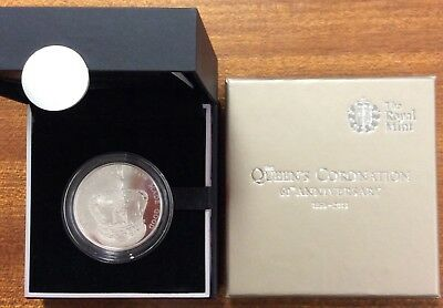 2013 5£ 60th anniversary of the queens coronation .925 silver refer to picture