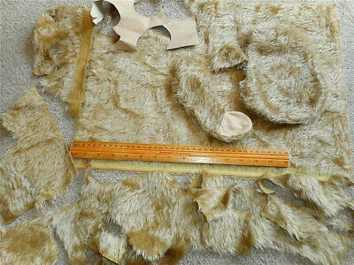 Mohair plus Partly Made Bear