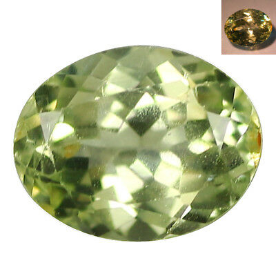 0.65 Ct Superb Oval cut 6 x 5 mm Blue Green to Red Color Change Alexandrite