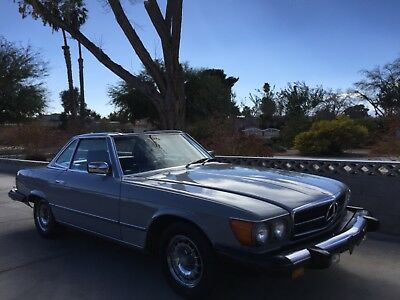 1983 Mercedes-Benz Other 380SL SL 1983 Mercedes Benz 380SL Roadster Both Tops Toolset Original Radioi
