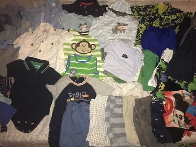Baby Boy Spring Summer Mix And Match Lot 18m