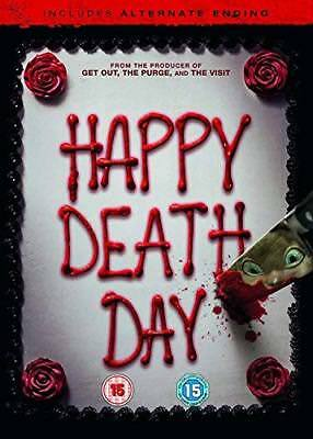 Happy Death Day DVD + digital download  with Jessica Rothe New (DVD  2017)