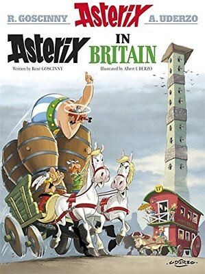 Asterix in Britain: Album 8 by Goscinny, Ren� Book The Cheap Fast Free Post