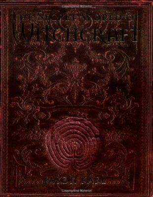 Secret World of Witchcraft by Karl, Jason Hardback Book The Cheap Fast Free Post