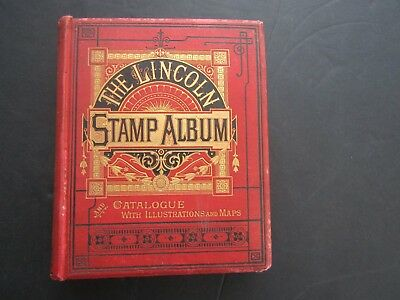 ORIGINAL 1892 LINCOLN ALBUM - 9th EDITION - 200 PAGES + COLLECTION