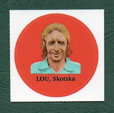 Denis Law 2016 Manchester Utd Anon Serbian Wm 74 World Cup Soccer Sticker