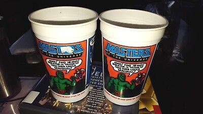 Vintage Masters of The Universe He-Man Cup I Have the Power Burger King Pepsi