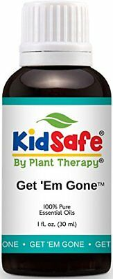 Plant Therapy KidSafe Get 'Em Gone Formerly Lice Away Synergy Essential Oil 100%