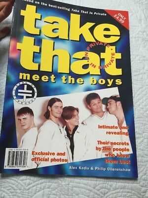 Take That Book In Private Meet The Boys Official Merchandise 1995