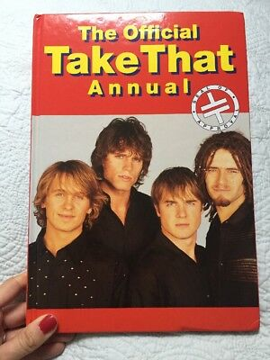 Take That The Official Annual Official Merchandise 1995
