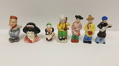 Lot Of Occupied Japan Salt And Pepper Shakers And Figurines