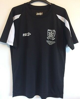 Official Hull FC 2017 Challenge Cup Final Training T-Shirt Size Medium