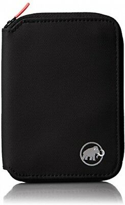 Mammut  Unisex Outdoor Zip Wallet Available In Black - Size 12 X 9 X 1.5 Cm