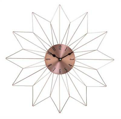 Wall Clock in Copper and Black [ID 3646424]