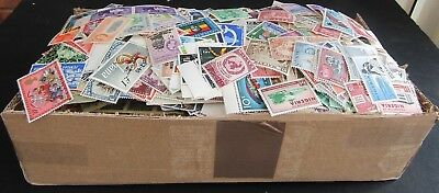 Shoebox Full Of C/wealth & World Stamps - All Periods - Est 14/15000+  M/u
