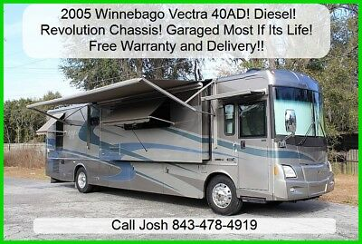 2005 Winnebago Vectra 40AD Free Warranty! Free Delivery! Garaged! Used