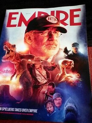 EMPIRE Magazine STEVEN SPIELBERG Limited Subscriber Cover APRIL 2018 #347 NEW!