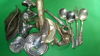 STERLING SILVER 925 SCRAP 453 grams Clean